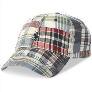 Polo Ralph Lauren Plaid Madras Baseball Hat
